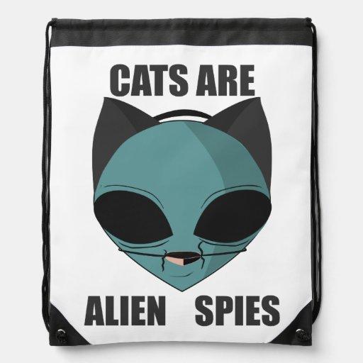Los gatos son espías extranjeros mochilas