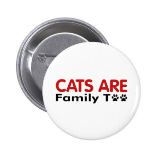 Los gatos son familia también pins