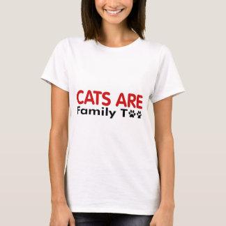 Los gatos son familia también playera