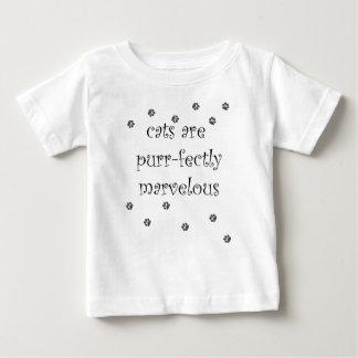 los gatos son purrfectly maravillosos con las remeras