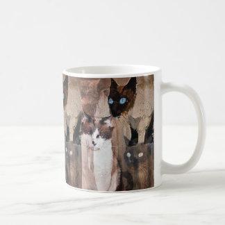 Los gatos taza