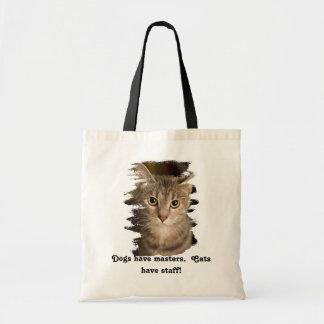 Los gatos tienen el personal