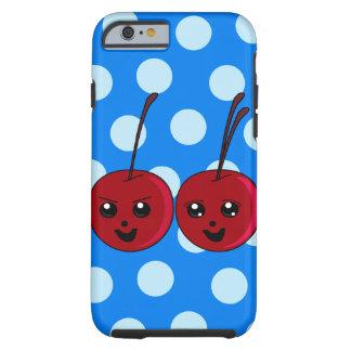 Los gemelos de la cereza funda de iPhone 6 tough