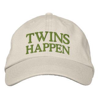 Los gemelos suceden gorra de beisbol bordada