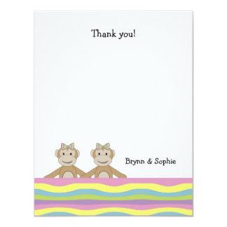 Los gemelos Tutti Fruitti del mono le agradecen Comunicado