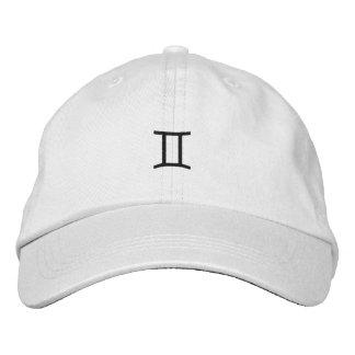 Los géminis bordaron el gorra gorras de béisbol bordadas