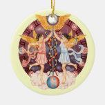 ¡Los géminis del zodiaco - modifiqúelo para requis Ornaments Para Arbol De Navidad