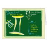 Los géminis pueden tarjeta de felicitación