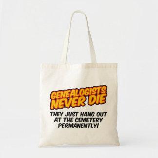 Los Genealogists nunca mueren Bolsas