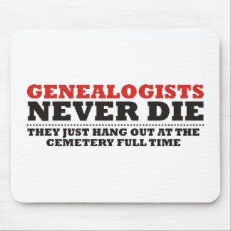 Los Genealogists nunca mueren Tapete De Raton