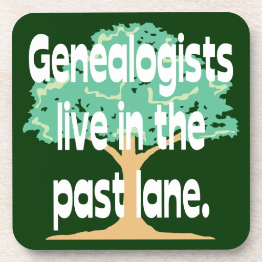 Los Genealogists viven en el último carril Posavasos