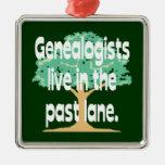 Los Genealogists viven en el último ornamento del