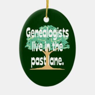 Los Genealogists viven en el último ornamento del Adorno
