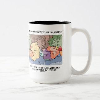 Los geólogos no pueden subrayar bastantes nuestras taza de café