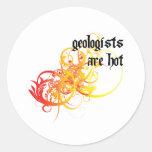 Los geólogos son calientes pegatinas