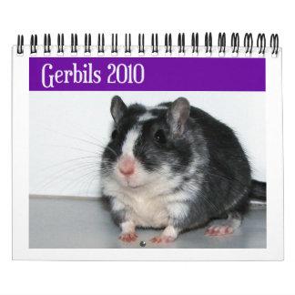 Los Gerbils hacen calendarios (la reimpresión)