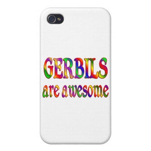 Los Gerbils son impresionantes iPhone 4 Fundas