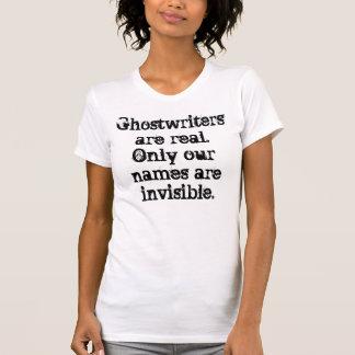 Los Ghostwriters son camiseta real