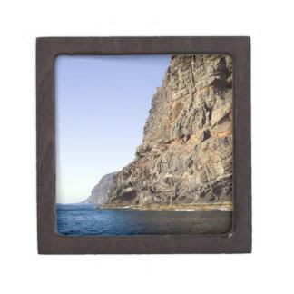 Los Gigantes Cliffs in Tenerife Jewelry Box