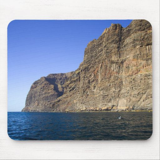Los Gigantes Cliffs in Tenerife Mouse Pads