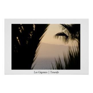 Los Gigantes Tenerife Canary Islands Poster