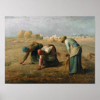 Los Gleaners 1857 Impresiones