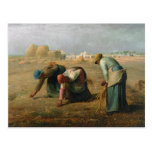 Los Gleaners, 1857 Postales