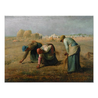 Los Gleaners, 1857 Póster