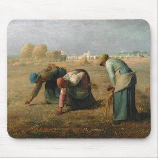 Los Gleaners, 1857 Tapete De Ratón