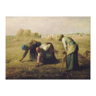 Los Gleaners por el mijo 1857 de Jean-François Lienzo Envuelto Para Galerias