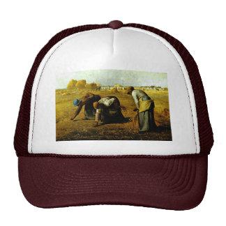 Los Gleaners, por el mijo (la mejor calidad) Gorros Bordados