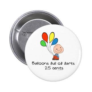Los globos de farts por completo pin