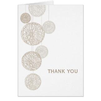 Los globos de la guita le agradecen cardar tarjeta de felicitación
