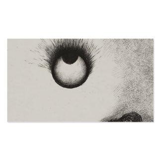 Los globos del ojo de Odilon Redon- por todas part Plantilla De Tarjeta De Negocio