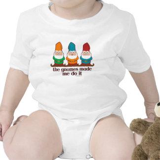 Los gnomos hicieron que lo hace camisetas