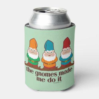 Los gnomos hicieron que lo hace enfriador de latas