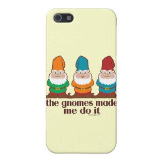 Los gnomos hicieron que lo hace iPhone 5 fundas