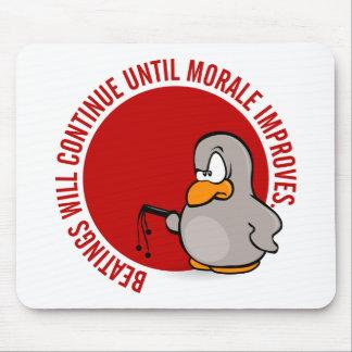 Los golpeos continuarán hasta que la moral mejore tapetes de ratones