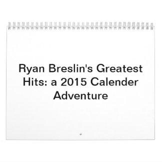 Los golpes más grandes de Ryan Breslin: Calendario