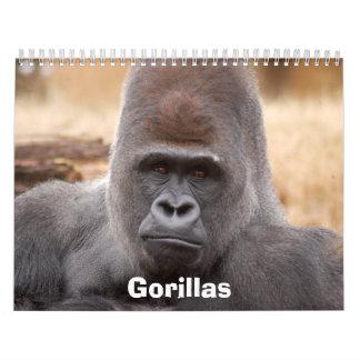 Los gorilas hacen calendarios, los gorilas