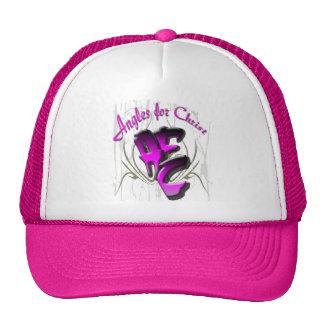 Los gorras de la mujer. Ángulos para Cristo
