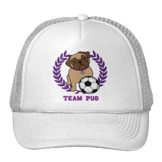Los gorras del barro amasado del fútbol (púrpuras)