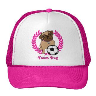 Los gorras del barro amasado del fútbol (rosados)