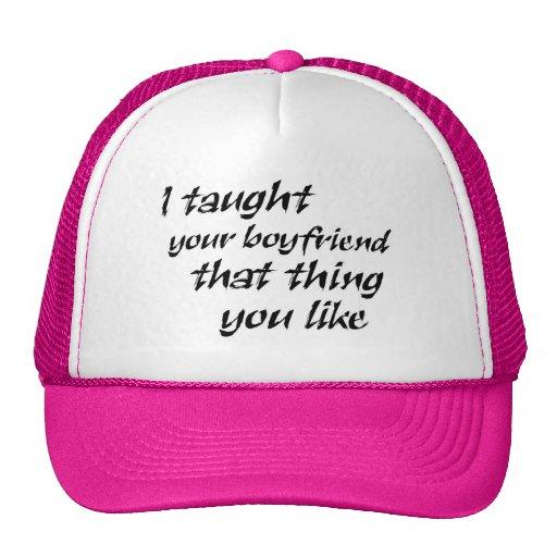 Los gorras divertidos del camionero del chiste de