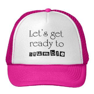Los gorras para mujer del camionero de la idea div