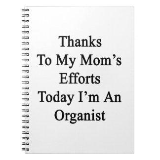 Los gracias a esfuerzos de mi mamá soy hoy libretas