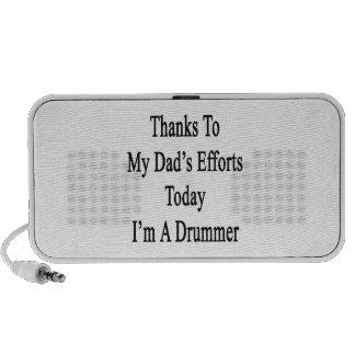 Los gracias a esfuerzos de mi papá soy hoy batería altavoces