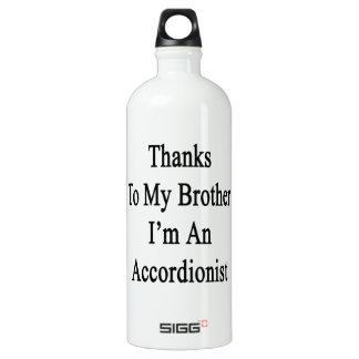 Los gracias a mi Brother soy acordeonista
