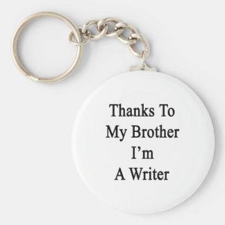 Los gracias a mi Brother soy escritor