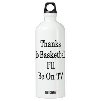 Los gracias al baloncesto estaré en la TV